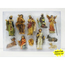 wholesale Figures & Sculptures: Nativity figurines 11 parts 10cm Christmas