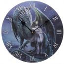 wholesale Clocks & Alarm Clocks: Wall clock dragon with unicorn Lisa Parker