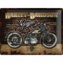 BlechschildHarley - Davidson30 x 40cm