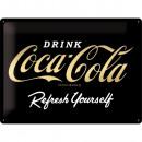 Blechschild Coca - Cola 30 x 40cm