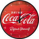 Wanduhr Coca - Cola Ø 31cm