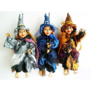 wholesale Cleaning: Witch for hanging on broom 23cm