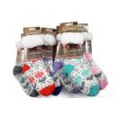 Großhandel Strümpfe & Socken: Kuschelsocken / Hüttensocken Herz, mit ABS