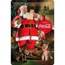 Blechschild Coca - Cola 20 x 30cm