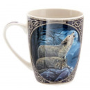 grossiste Tasses & Mugs: Porcelaine tasse loup Lisa Parker