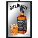 Großhandel Fanartikel & Souvenirs: Spiegel Jack Daniels 20 x 30cm