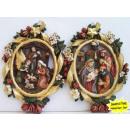 groothandel Foto's & lijsten: Muurschildering  met magnetische kerststalfiguurtje