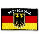 Stickwappen / Aufbügler Deutschland EM 2020
