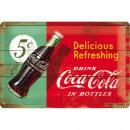 BlechschildCoca - Cola20 x 30cm