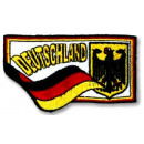 wholesale Gifts & Stationery: Embroidered emblem / Patch Germany EM 2020