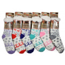 wholesale Stockings & Socks: Cuddly socks / hut socks Reindeer ABS