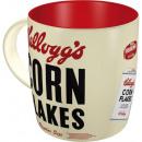 Großhandel Tassen & Becher: Tasse Keramik Kellogg's 0,33 l