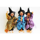 wholesale Cleaning: Witch for hanging on broom 18cm