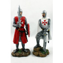 wholesale Home & Living: Polyresin Temple Knight / Cross Knight / Knight 22