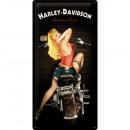 BlechschildHarley - Davidson 25 x 50cm