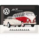 Großhandel Bilder & Rahmen: Blechschild Volkswagen 30 x 40cm
