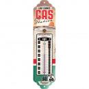 Großhandel Wetterstationen: Blech Thermometer Route 66 6,5 x 28cm