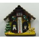 wholesale Magnets: Magnetic weather house with thermometer ...
