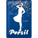 Großhandel Bilder & Rahmen: Blechschild Persil 20 x 30cm