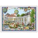 mayorista Tarjetas de felicitacion: Nostalgia postal / tarjeta de felicitación Bad Neu