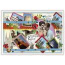 grossiste Gadgets et souvenirs: Nostalgie carte  postale / carte de voeux souvenir