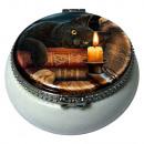Großhandel Schmuck-Aufbewahrung: Schmuckdöschen  schwarze Katze Lisa Parker