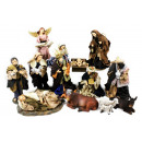 wholesale Dresses: Nativity figures with dresses, H: approx. 17cm, 13