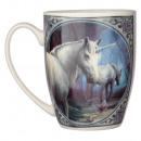 Tasse En Porcelaine Licorne Lisa Parker