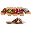 Damessandalen Sandalen Leopard Zebra Look-schoenen