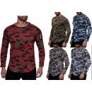 Großhandel Shirts & Tops: Herren Langarmshirt Pullover ...