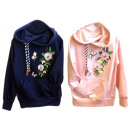 Großhandel Fashion & Accessoires: Kinder Mädchen Pullover Hoody Applikation Patches