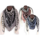 Women's summer scarves star triangle staples