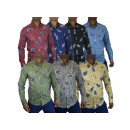 Men's leisure shirts shirt sports shirt leisur