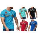 Großhandel Shirts & Tops: Herren Men Sommer Trend Shirt T-Shirt Monte Carlo