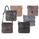 Women's Bags Rivets Bags Shoppers Synthetic
