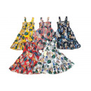 Gyerekek gyerekek lány ruha ruha ing virágos floun