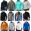 wholesale Coats & Jackets: Mix Post Men's Trend Sweat Jackets Hoody Sweat