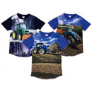 Kids Boys T-Shirt Tractor Shirt Shirts Short Sleev