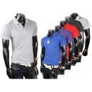 ingrosso Ingrosso Abbigliamento & Accessori: Polo da Uomo Uomo Manica Corta Polo V-Neck Uni