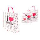 mayorista Papel regalo: La bolsa de asas de moda del bolso de la bolsa de