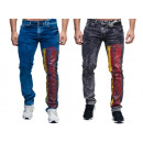 Fashionable Men's Jeans Trousers World Cup 201