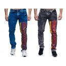 Großhandel Jeanswear: Modische Herren  Jeanshose Fan WM 2018 Deutschland