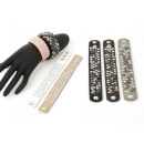 Bracelets Women Men Unisex Design Leather Look