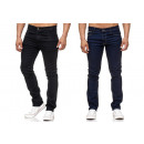 Fashionable Men's Thermal Jeans Pants Winter J