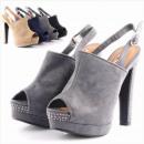 Bombas de las mujeres tacones de los zapatos calza