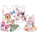 Tendenza Kids Girl Dress Unicorn Flowers Emoji