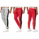 mayorista Joyas y relojes: Moda de los hombres a rayas de rayas pantalones de