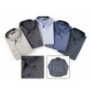 ingrosso Camicie: Herren Business  Langarm T-shirt 100% cotone