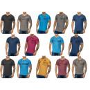 Großhandel Shirts & Tops: Herren Men Kurzarm T-Shirts Öl Wash Mix Motivdruck