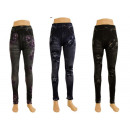 Großhandel Hosen: Damen Leggings Hose Damenleggings Leggins in versc